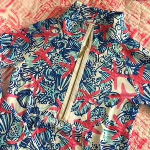 Lilly Pulitzer She She Shells XS Popover